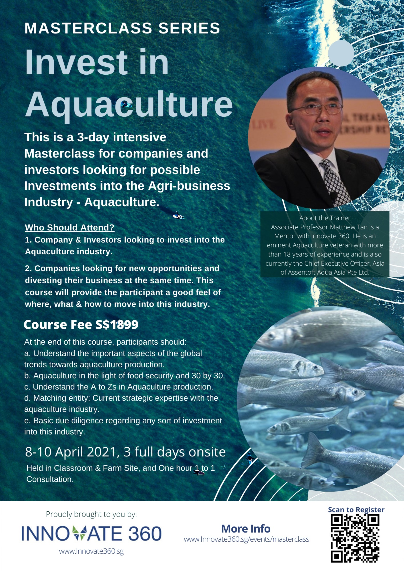 Masterclass Series: Invest in Aquaculture